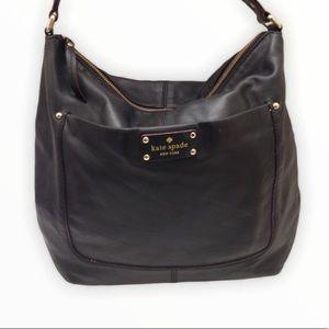Kate spade soft leather hobo shoulder bag